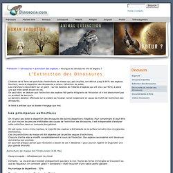 Extinction des Dinosaures. Theories et Remise en Cause