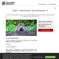 2025 : l'extinction des hérissons ? Sauvons-les avant qu'il ne soit trop tard !