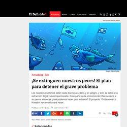 El definido 23/3/16 - ¡Se extinguen nuestros peces! El plan para detener el grave problema