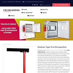 Modular Type Fire Extinguisher Manufacturer