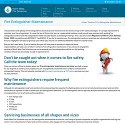 Fire Extinguisher Servicing Cheshire, Liverpool & Wirral