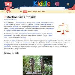 Extortion Facts / Wyłudzenie Fakty (