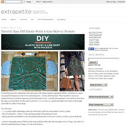 Petite Fashion, Style Tips and DIY