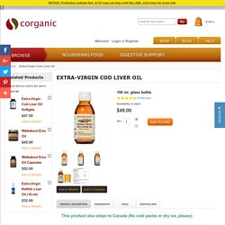 Extra-Virgin Cod Liver Oil