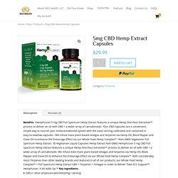 Best CBD Hemp Extract Capsule Online - WCI Health LLC