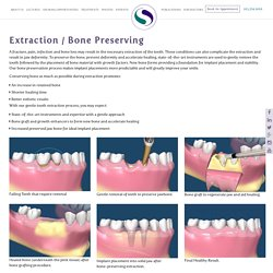 Tooth Extraction Dentist & Bone Preserving in Fairfield Connecticut (CT)