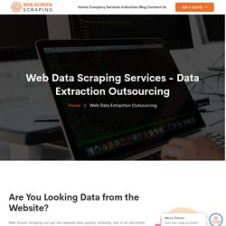 Data Extraction Outsourcing