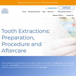 Tooth Extractions in Mesa, Arizona