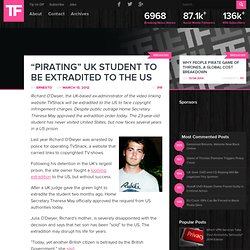 """Pirating"" UK Student to be Extradited to the US"