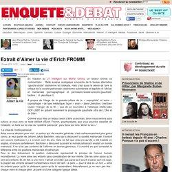 Extrait d'Aimer la vie d'Erich FROMM