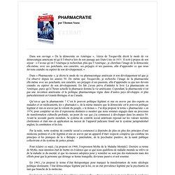Extrait - Pharmacratie par Thomas Szasz