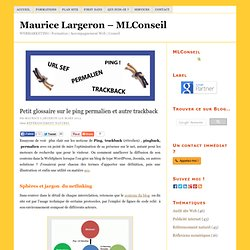 Extrait du riche vocabulaire du netlinking