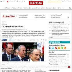 """Le """"trésor de Balladur"""""""