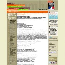 Extraits du Cahier d'un retour au pays natal, d'Aimé Césaire, lus le 10 mai 2006 au jardin du Luxembourg - [Site du CNMHE, Comité national pour la Mémoire et l'Histoire de l'Esclavage]