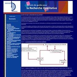 ROCARE : Extraits de guides pour la Recherche Qualitative