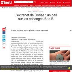 L'extranet de Dorise : un pari sur les échanges B to B