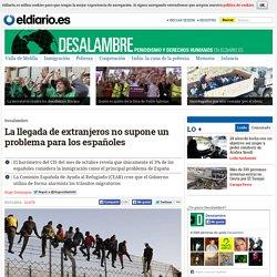 La llegada de extranjeros no supone un problema para los españoles