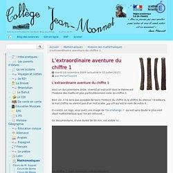 L'extraordinaire aventure du chiffre 1 - Collège Jean-Monnet