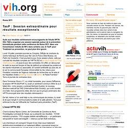 TasP : Session extraordinaire pour résultats exceptionnels | vih.org