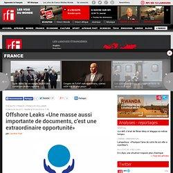 Offshore Leaks «Une masse aussi importante de documents, c'est une extraordinaire opportunité» - PARADIS FISCAUX / ENTRETIEN