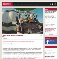 Perrier - Hot Air Balloons - Extraordinaire - Packshotmag