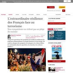 L'extraordinaire résilience des Français face au terrorisme
