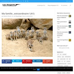 Ma famille…extraordinaire ! (A1)