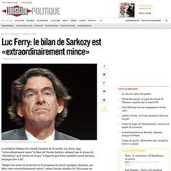 Luc Ferry: le bilan de Sarkozy est «extraordinairement mince»