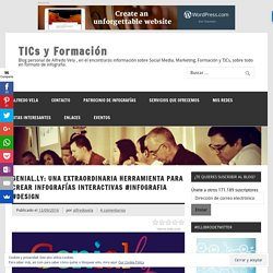 Genial.ly: Una extraordinaria herramienta para crear Infografías interactivas #infografia #design