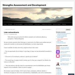 Strengths Assessment and Development
