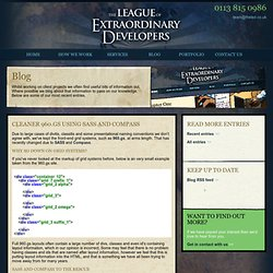 The League of Extraordinary Developers