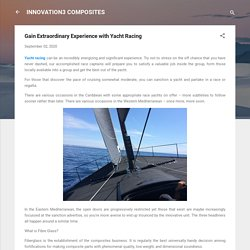 Gain Extraordinary Experience with Yacht Racing