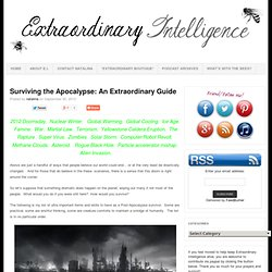Surviving the Apocalypse: An Extraordinary Guide : Extraordinary Intelligence