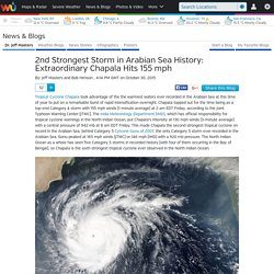 2nd Strongest Storm in Arabian Sea History: Extraordinary Chapala Hits 155 mph