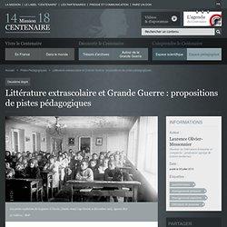 Littérature extrascolaire et Grande Guerre : propositions de pistes pédagogiques