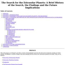 gatewood's planets