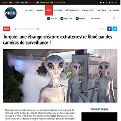 Turquie: une étrange créature extraterrestre filmé par des caméras de surveillance!