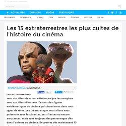 Les 13 extraterrestres les plus cultes de l'histoire du cinéma