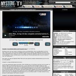 Complot : les extraterrestres sont-ils parmi nous