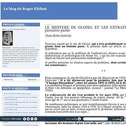 L'ECRITURE DE GLOZEL ET LES EXTRATERRESTRES GEANTS