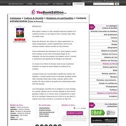 Contacts extraterrestres de Olivier de Rouvroy sur TheBookEdition.com