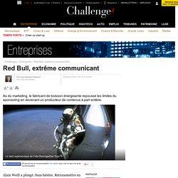 Red Bull, extrême communicant - 25 janvier 2013