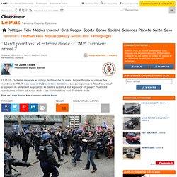 """""""Manif pour tous"""" et extrême droite : l'UMP, l'arroseur arrosé"""