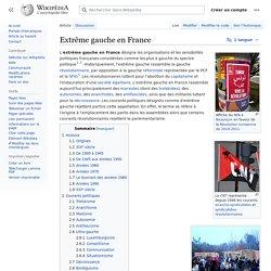 Extrême gauche en France
