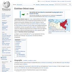 Extrême-Orient russe