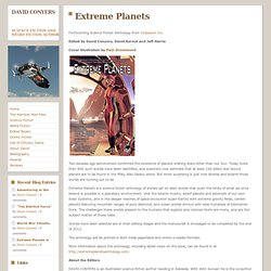 Extreme Planets - DAVID CONYERS / science fiction author