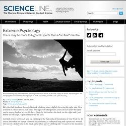 Extreme Psychology