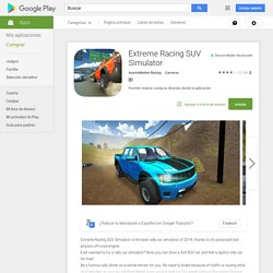 Extreme Racing SUV Simulator - Aplicaciones Android en Google Play