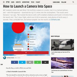 Extreme How-To Skills - How to Launch a Camera into Space