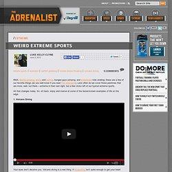 Weird Extreme Sports - Weird Sports